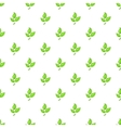 Plant pattern cartoon style vector image vector image