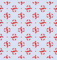red royal pattern the seamless background vector image vector image