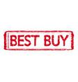 stamp text best buy vector image