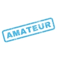 Amateur Rubber Stamp vector image vector image