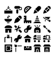 Construction Icons 9 vector image vector image