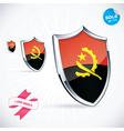 I Love Angola Flag vector image vector image