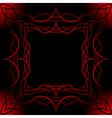 mesh frame vector image vector image