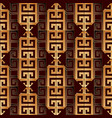 modern greek key seamless pattern geometric vector image