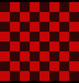 seamless pattern in black and red geometric mosaic vector image