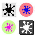 spot flat icon vector image