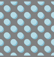 tile pattern with pastel blue polka dots vector image vector image