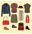 Women clothes vector image vector image