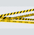 caution tape stripe danger line police hazard do vector image vector image