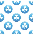 Clover sign pattern vector image vector image