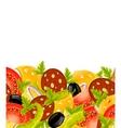 food border vector image vector image