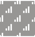 Graph seamless pattern vector image vector image