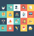 medical and healthcare icons set vector image