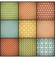 Vintage summer seamless patterns with swath tiling