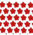 flower geranium wallpaper decoration vector image