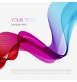 Abstract colorful background Spectrum wave vector image vector image