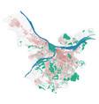 belgrade map detailed map of city
