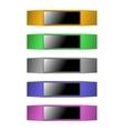 Fitness bracelet vector image vector image