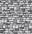 grey stone wall vector image