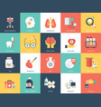 icon set medical and healthcare vector image