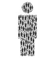 person icon figure vector image vector image