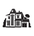 private house vector image vector image