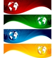 vector set of banners vector image vector image