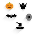 Flat Halloween Icon vector image