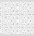 abstract monochrome seamless pattern geometric vector image vector image