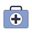 kit first aid medical emergency equipment vector image vector image