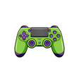 modern gamepad icon isolated gamepad vector image