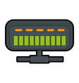 net router isolated icon vector image