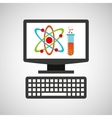 online education technology physics and chemistry vector image vector image