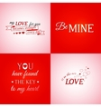 Set of typographic design elements vector image vector image