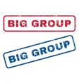 Big Group Rubber Stamps vector image vector image