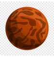 choco lunch biscuit icon cartoon style vector image vector image