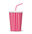 cinema cup vector image