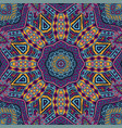 colorful tribal ethnic festive abstract pattern vector image