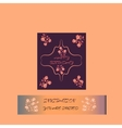 Elegant Happy Birthday card for banner flyer vector image vector image