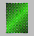 Geometrical abstract halftone dot pattern