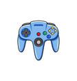 modern game controller icon vector image