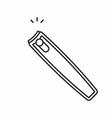 nail clipper icon vector image vector image