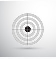 printable target vector image vector image