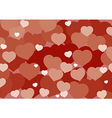 Valentine Hart Background vector image vector image