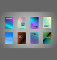 a4 brochure cover mininal design with geometric vector image