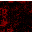 Bloody Grunge Texture vector image vector image