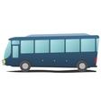 Bus public transportation cartoon vector image