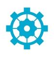 industrial wheel cog gear symbol vector image vector image
