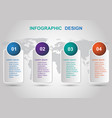 modern banners infographic design template vector image vector image