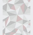 polygonal mosaic abstract geometry background vector image